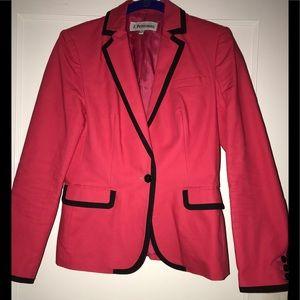 J. Peterman Hot pink & Black Blazer! Never worn